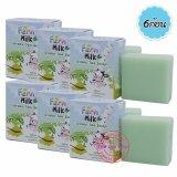ทบทวน Fern Milk Green Tea Soap สบู่น้ำนมชาเขียว ผสมสารสกัดจากชาเขียว 65 กรัม X 6 ก้อน Fern
