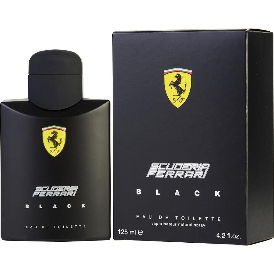 Ferrari black for Men EDT 125 ML.