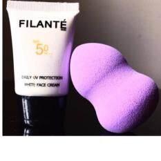 ซื้อ ครีมกันแดดFilante Skin Daily Uv Protection White Face Cream 20Ml Spf50 Pa พร้อมเผชิญแสงแดดในทุกวัน เหมาะกับทุกสภาพผิว ออนไลน์ ถูก