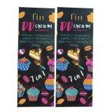 ราคา Fin Dd Cream 7 In 1 ฟิน ดีดี ครีม ขาวสวย 7 ประการในหนึ่งเดียว ออร่าไว ทาปุ๊ป ขาวปั๊ป เกลี่ยง่าย ไม่ติดขน ไม่ติดเสื้อผ้า 100G 2 กล่อง ออนไลน์ ไทย