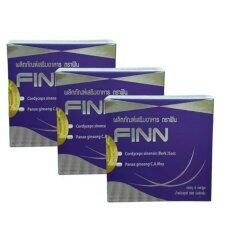 ทบทวน Finn อาหารเสริมเสริมสมรรถภาพเพศชาย 4 เม็ด กล่อง จำนวน 3 กล่อง Finn