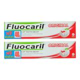 FLUOCARIL ยาสีฟันออริจินัล120กรัม เพิ่มปริมาณฟรี 40กรัม(แพ็ก 2)