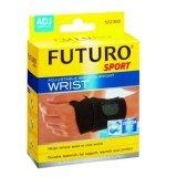 ราคา Futuro Sport Adjustable Wrist Support Wrist ฟูทูโร่ อุปกรณ์พยุงข้อมือแบบมีห่วงรองรับ ชนิดปรับกระชับได้ รุ่น 09033 Futuro