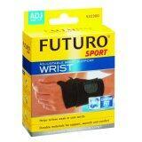 ราคา Futuro Sport Adjustable Wrist Support Wrist ฟูทูโร่ อุปกรณ์พยุงข้อมือแบบมีห่วงรองรับ ชนิดปรับกระชับได้ รุ่น 09033 ถูก