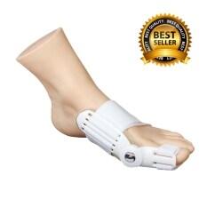 โปรโมชั่น Gadgetz อุปกรณ์แก้ไขเท้าผิดรูปช่วงนิ้วโป้งโค้งงอเข้า สำหรับผู้มีนิ้วโป้งเท้าเอียง ถูก