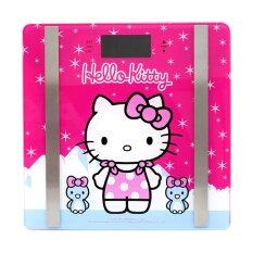 ราคา Galaxy เครื่องชั่งน้ำหนักดิจิตอลหน้ากระจก Hello Kitty รุ่น Pt 725 สีชมพู K 3 Galaxy เป็นต้นฉบับ
