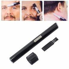 ราคา Gemei เครื่องกันหนวด จอน คิ้ว ไฟฟ้าไร้สาย 100 กันน้ำได้ Ipx4 ใบมีดไททาเนี่ยม 2 Mm มอเตอร์อัลลอยด์ Gm 518 พร้อมหวีรองตัด วัสดุ Abs สีดำ Gemei เป็นต้นฉบับ