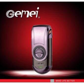 GEMEI เครื่องโกนหนวดไฟฟ้า โกนหนวดไฟฟ้า เครื่องโกนหนวด พกพา ดีไซด์หรู คุณภาพเยี่ยม [XC]
