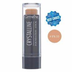 ซื้อ Giffarine ครีมรองพื้นชนิดแท่ง Crystalline Foundation Stick Fs 33 1 กล่อง Giffarine