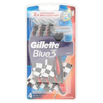 Gillette BLUE3 SENSITIVE PACK4