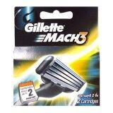 ขาย Gillette Mach 3 Blade 2 Pieces Gillette ผู้ค้าส่ง
