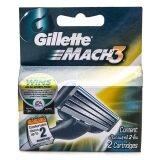 ราคา Gillette Mach 3 Blade Pack 2