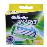 ขาย ใบมีดโกนแบบเปลี่ยน Gillette Mach3 บรรจุ 8 ชิ้น ถูก กรุงเทพมหานคร