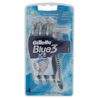 Gillette RAZOR BLUE 3 ICE PACK 4