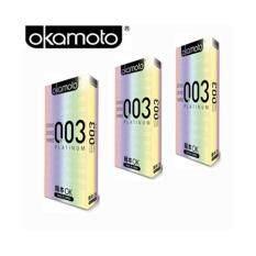 ราคา Okamoto 003 ถุงยางอนามัย 10ชิ้น กล่อง จำนวน 3กล่อง ออนไลน์