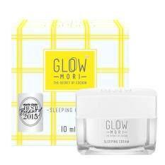 Glow Mori Sleeping Cream ครีมบำรุงผิวหน้าก่อนนอน 10Ml ถูก