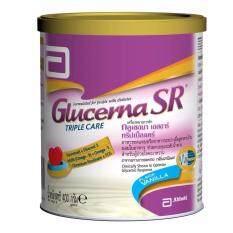 ขาย Glucerna Sr Triple Care อาหารทดแทนสำหรับผู้ป่วยโรคเบาหวาน 400 กรัม 1กระป๋อง Glucerna ถูก
