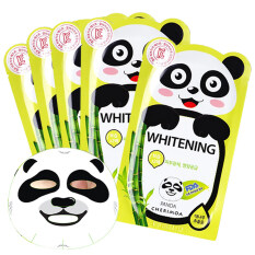 ความคิดเห็น Gm Shop Cherimoa Panda Mask Whitening แผ่นมาร์คหน้ารูปแพนด้า 5 แผ่น