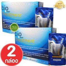 ขาย Green Bio Super Treatment กรีนไบโอซุปเปอทรีทเมนท์ครีม ซองสีน้ำเงิน 2 กล่อง บรรจุ 24 ซอง กล่อง ออนไลน์ Thailand