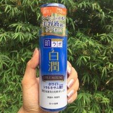 โปรโมชั่น Hada Labo Shirojyun Premium Whitening Lotion Moist Type ฮาดะ ลาโบะ พรีเมี่ยม ไวท์เทนนิ่งโลชั่น 170Ml สูตรชุ่มชื้นพิเศษ แถบส้ม สำหรับผิวแห้ง กรุงเทพมหานคร