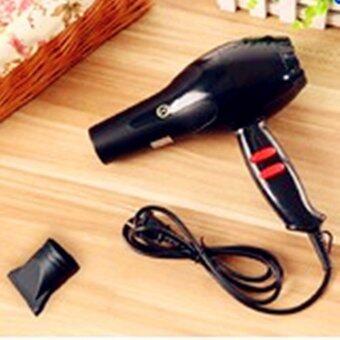Hair dryer ไดร์เป่าผม เครื่องเป่าผมไฟฟ้า 1600W รุ่น PX-3803 (black)