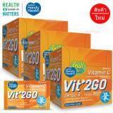 ขาย Handyhealth Vit2Go Vitamin C 3 กล่อง 12ซอง 24แคปซูล กล่อง วิตทูโก วิตามินซี บำรุงผิวพรรณให้สดใสเนียนนุ่ม ต้านอนุมูลอิสระ ลดการเกิดริ้วรอยแห่งวัย เสริมระบบภูมิคุ้มกันของร่างกาย ถูก ใน กรุงเทพมหานคร