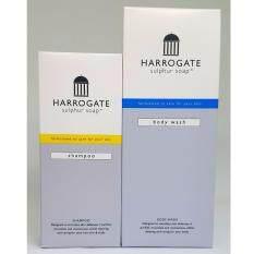 ซื้อ Harrogate Set Shampoo บรรเทาอาการคันหนังศรีษะ สะเก็ดเงิน 150Ml Wash เจล อาบน้ำ ฮาโรเกต 250 Ml ผิวแห้ง ผิวแพ้ง่าย สะเก็ดเงิน ออนไลน์