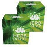 ซื้อ Herb Inside ครีมสมุนไพรหน้าใส 2ชุด Herb Inside ถูก