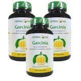 โปรโมชั่น Herbal One Garcinia ผลส้มแขก อ้วยอัน 100 Capsule X 3 Bottle Herbal One ใหม่ล่าสุด