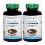 ขาย Herbal One Sesamin สารสกัดเซซามินจากงาดำชนิดแคปซูล 60 Caps 2 กระปุก ราคาถูกที่สุด