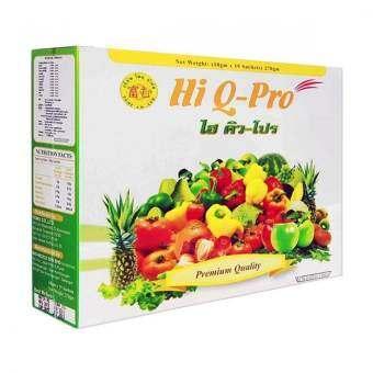 Hi Q Pro ไฮคิว โปร ดีท็อกซ์ (12ซอง/1 กล่อง)-