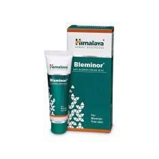 Himalaya Bleminor Ani-Blemish Cream 30ml. ลดเลือนฝ้า กระ รอยดำจากสิว (1 กล่อง).