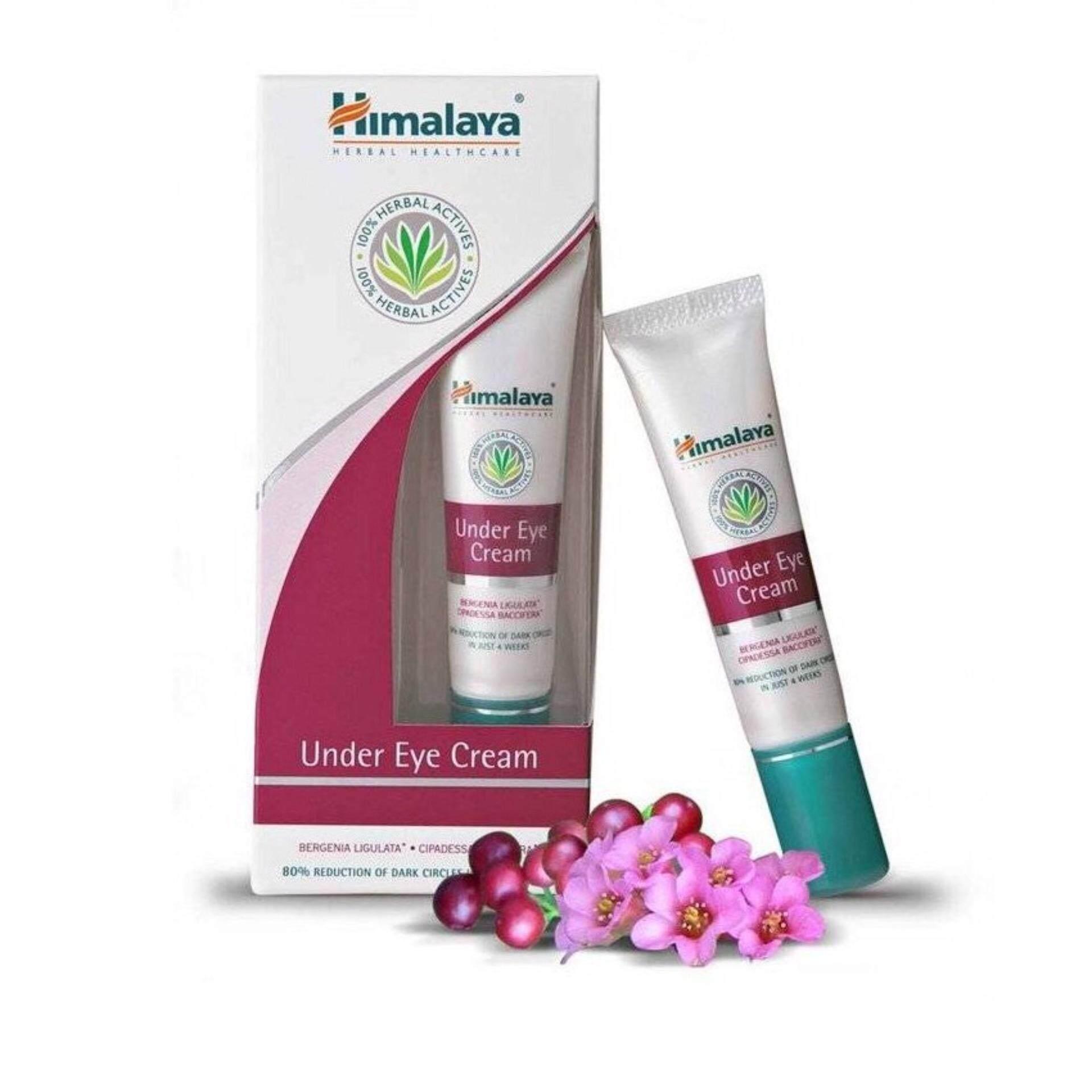 Himalaya Herbals Under Eye Cream ครีมบำรุงใต้ตา ป้องกันริ้วรอยและลดความหมองคล้ำใต้ตา ขนาด 15 ml.
