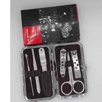 Hua Li ชุดกรรไกรตัดเล็บ 6 ชิ้น อุปกรณ์ตัดเล็บมือและเล็บเท้า รุ่น 696