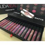 โปรโมชั่น Huda Beauty Liquid Matte Lipstick Set 16 Color 16 สี 16 แท่ง ถูก