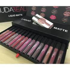 ซื้อ Huda Beauty Liquid Matte Lipstick Set 16 Color 16 สี 16 แท่ง ออนไลน์ กรุงเทพมหานคร