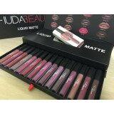 ส่วนลด Huda Beauty Liquid Matte Lipstick Set 16 Color 16 แท่ง 16 สี