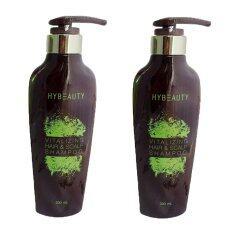 Hybeauty Vitalizing Hair Scalp Shampooแชมพูสมุนไพรบริสุทธิ์เข้มข้นจากเกาหลี300 Ml แชมพู 2 ขวด เป็นต้นฉบับ