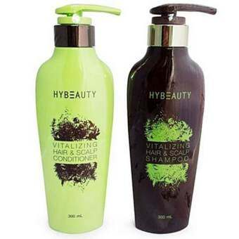 Hybeauty Vitalizing Hair & Scalp Conditioner 1 ขวด + shampoo 1 ขวด-