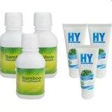 ราคา Hylife Bamboo Mouthwash 3ขวด Hy Dent ยาสีฟันไฮเด็นท์ Hydent 3หลอด ใหม่ล่าสุด