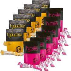 ทบทวน Hylife Hycafe กาแฟลดน้ำหนักไฮ คาเฟ่ 10 ซองX 6 แพค Hypuccinoกาแฟไฮปูชิโน กาแฟที่หอมนุ่มรส คาปูชิโน่ แคลอรี่ต่ำ 10ซอง X 6 แพค Hylife