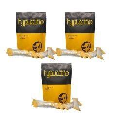 ขาย ซื้อ ออนไลน์ Hylife Hypuccinoกาแฟไฮปูชิโน กาแฟที่หอมนุ่มรส คาปูชิโน่ แคลอรี่ต่ำ บรรจุ10ซอง X 3แพค