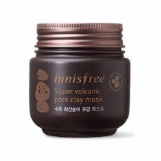 ราคา Innisfree Super Volcanic Pore Clay Mask 100Ml ใน Thailand
