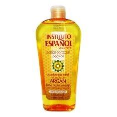 Instituto Espanol Argan Oil Body Oil บอดี้ออลย์ที่มีส่วนผสมของน้ำมันอาร์แกน Argan Oil 400 Ml..