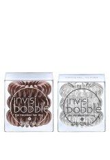 ขาย Invisibobble Duo Pack สี Crystal Clear Pretzel Brown ผู้ค้าส่ง