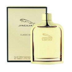 Jaguar Classic Gold Edt For Men 100 Ml พร้อมกล่อง เป็นต้นฉบับ