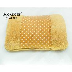 ขาย Jcgadget กระเป๋าน้ำร้อนไฟฟ้าขนนุ่มขนาดพกพา สอดมือได้ สีน้ำตาล Jc Gadget เป็นต้นฉบับ
