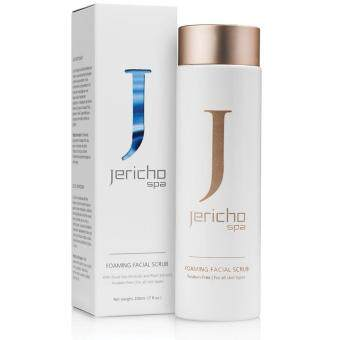 Jericho Foaming Facial Scrub by Jericho 200ml - With Dead Sea MineralsPlant Extracts