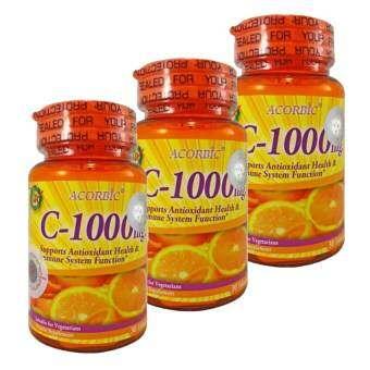 JP Natural วิตามินซี 1000mg  จำนวน 30 tab (3 กระปุก)