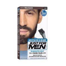 Just For Men : ย้อมหนวดดำ ย้อมเคราดำใน 5 นาที.